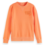 sweater soft orange 55,95 maat 4,6,8,10